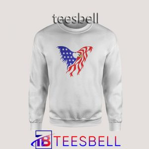 Sweatshirt Eagle Flag