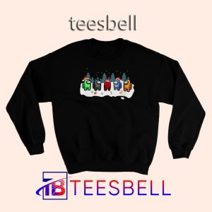 Among Us Funny Christmas Sweatshirt S – 3XL