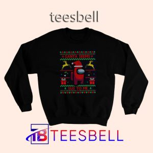 Among Us Christmas Sweatshirt S – 3XL