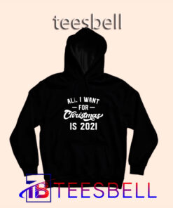 All I Want for Christmas Hoodie S – 3XL