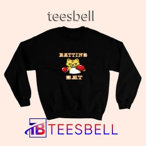 Batting Cat Sweatshirt