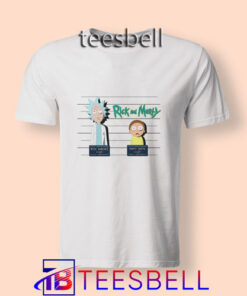 b1 Rick And Morty Mugshot T Shirt 247x296 - Tees Bell - Cute Shirts for Teens