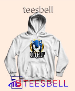 b4 Dont Stop Sonic Hoodie 247x296 - Tees Bell - Cute Shirts for Teens
